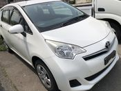 front photo of car NCP125 - 2012 Toyota RACTIS X V PACKAGE - WHITE