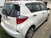 back photo of car NCP125 - 2012 Toyota RACTIS X V PACKAGE - WHITE