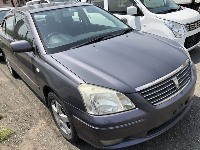 front of car ZZT240 - 2003 Toyota PREMIO A18 G PACKAGE LTD - GREY