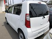 back photo of car MH34S - 2013 Suzuki WAGON R  - WHITE