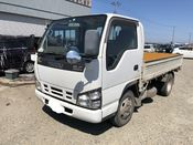 front photo of car NKS81 - 2005 Isuzu ELF 4WD - WHITE